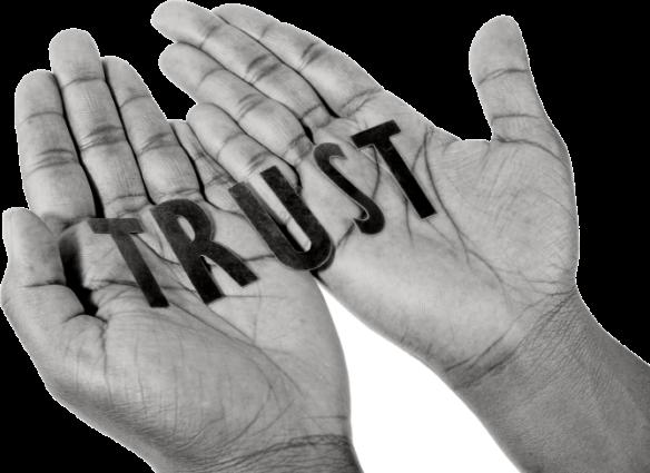 Tillit er noe du gir.